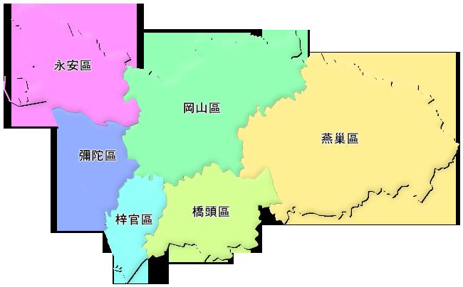 行政轄區圖